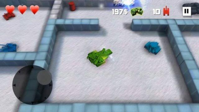 Block Tank Wars – 3D экшен про «танчики» на Android