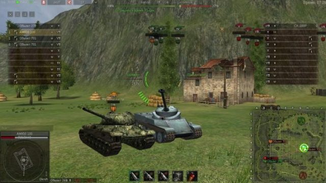 Ground War: Tanks – еще один клон World of Tanks