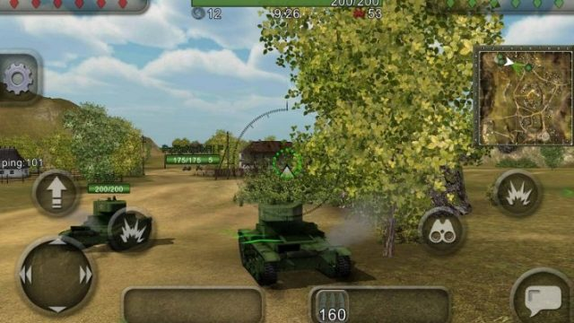 Wild Tanks Online бой