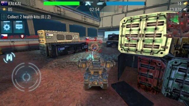 Tanks vs Robots – обзор футуристического симулятора танков и мехов