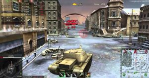 ground war tanks снежная карта бой