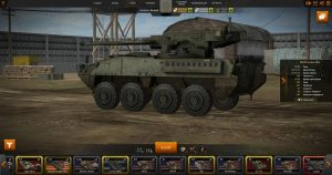 Wild Tanks Online ангар