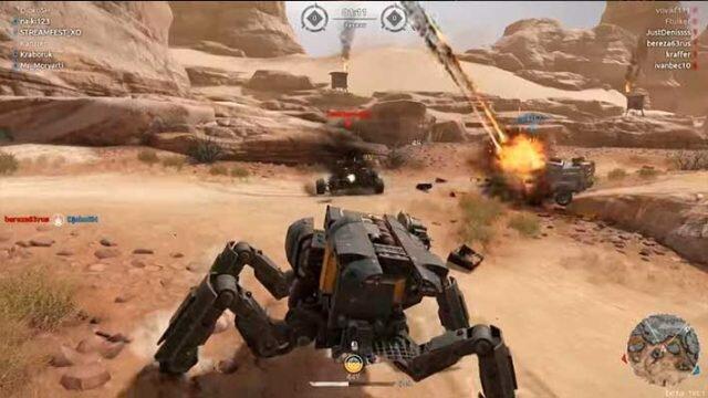 Crossout – построй свой танк с нуля и сразись с другими игроками!
