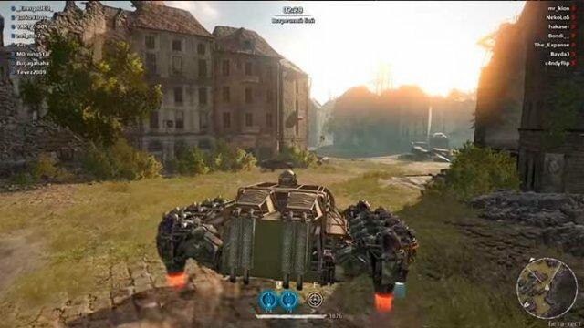 Crossout летающий ховер танк