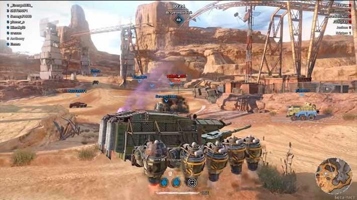 Crossout ховер танк (летающий танк)
