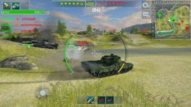 Tank Force – обзор новомодной танковой аркады