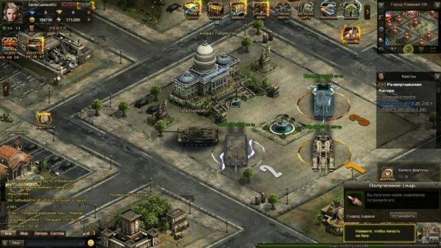 Битва танков – браузерная MMORPG о военной технике