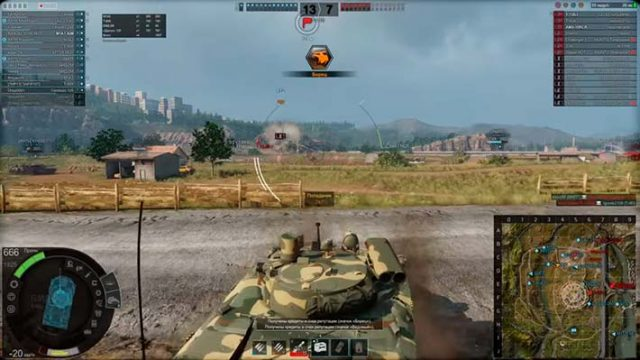Armored Warfare: Проект Армата - стрельба от укрытия