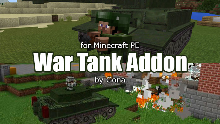 war tank addon by gona