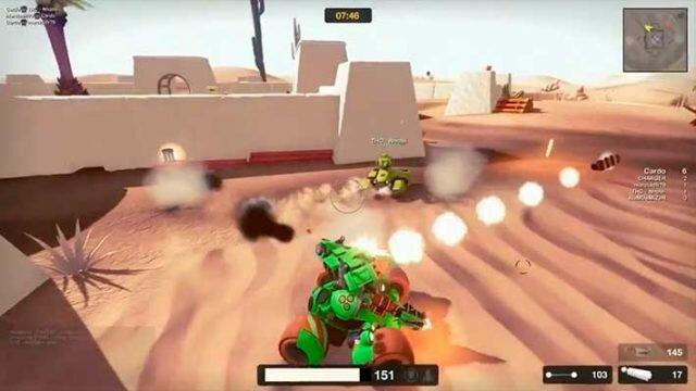 Gear Up онлайн игра про танки