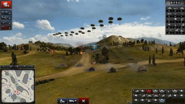 Order of War (Wargaming.net) - танки встречают десант