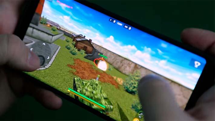 Танки Онлайн - предварительный просмотр геймплея