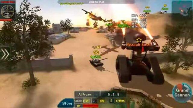 Assault Corps 2 – танки, роботы, бронемашины, авиация и БОССЫ