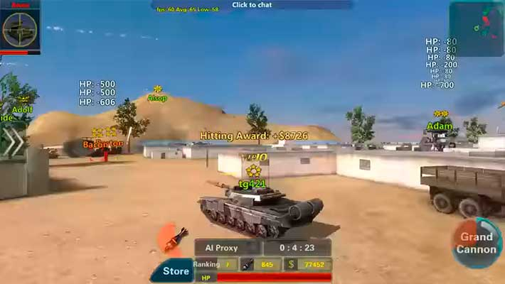 Assault Corps 2 - как выглядит танк