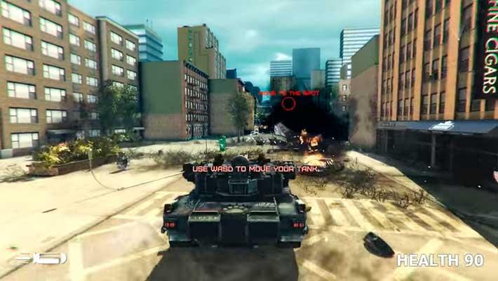 GearGuns Tank Offensive - суровый постапокалипсис