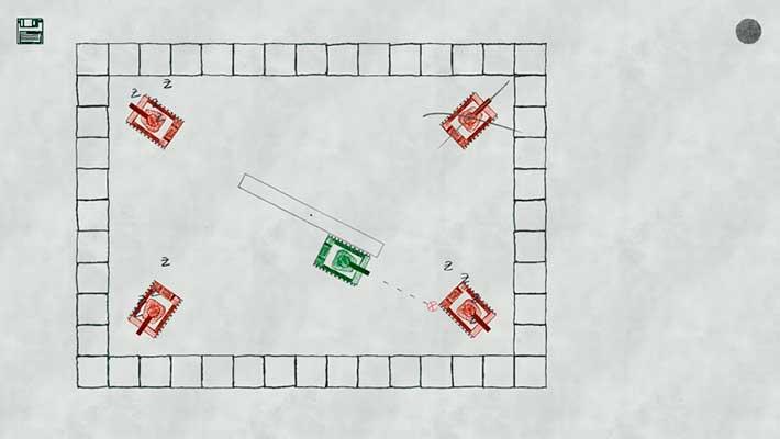 One Tank to Rule Them All - раздаем врагам, вращаясь по кругу
