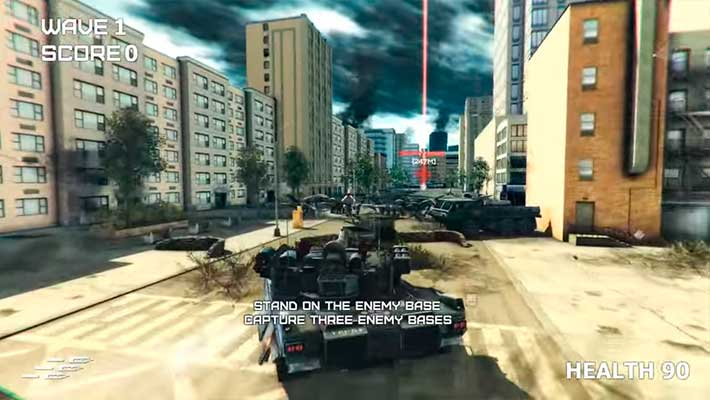 """GearGuns Tank Offensive - атмосфера """"Сталкера"""" в городах"""