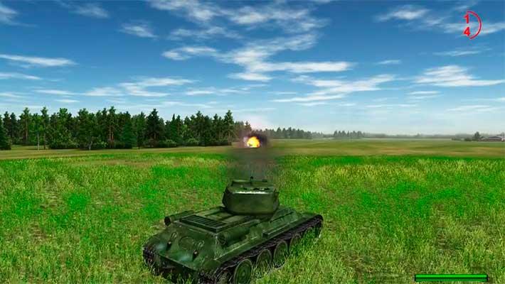 On the front line (На линии фронта) - попадание