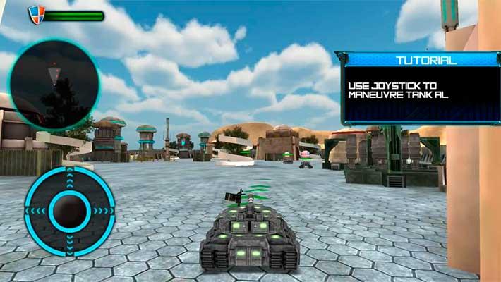 Tank Future Force 2050 - начальное обучение