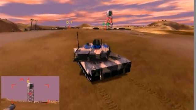 Armored Fist 3 - такой была графика в 1999 :)