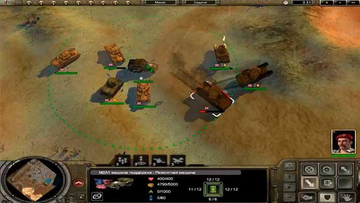 Codename: Panzers, Phase Two - несколько видов техники