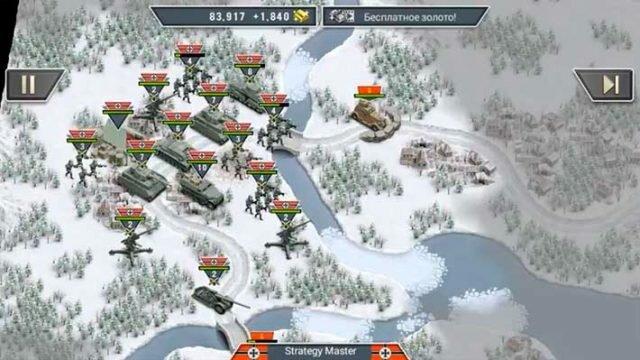 Frozen Front - наступление