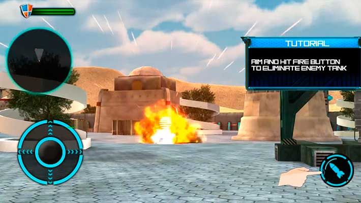 Tank Future Force 2050 - враг уничтожен