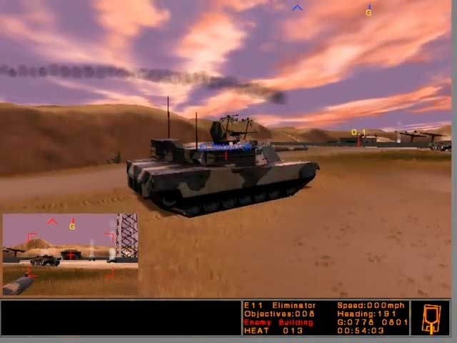 Armored Fist 3 - небо