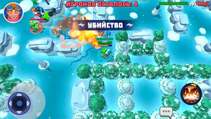 Tanks a lot! - снежная карта