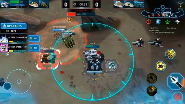 Panzer League - защищаем башню