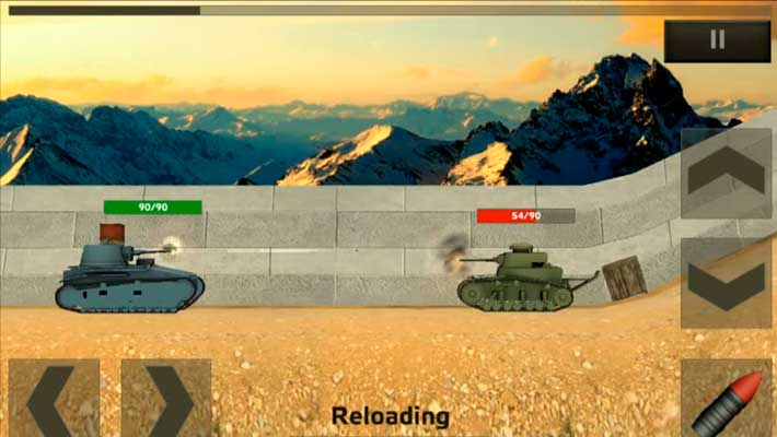 Tanks: Hard Armor - начальные танки