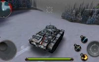 Tanks of Battle: World war 2 - зимняя карта