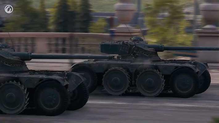 В World of Tanks появятся танки на колесах