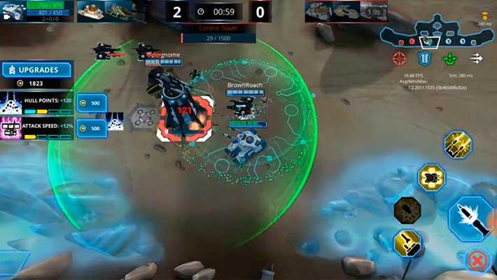 Panzer League - атакуем башню