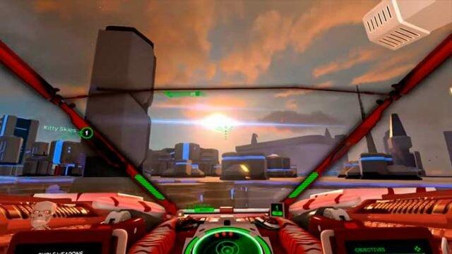 Battlezone Gold Edition - огонь по летающему врагу