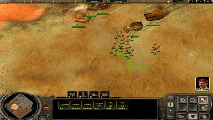 Codename: Panzers, Phase Two - олдскульное управление в духе Варкрафта