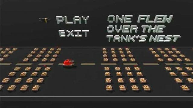 Voxel Tanks - главное меню