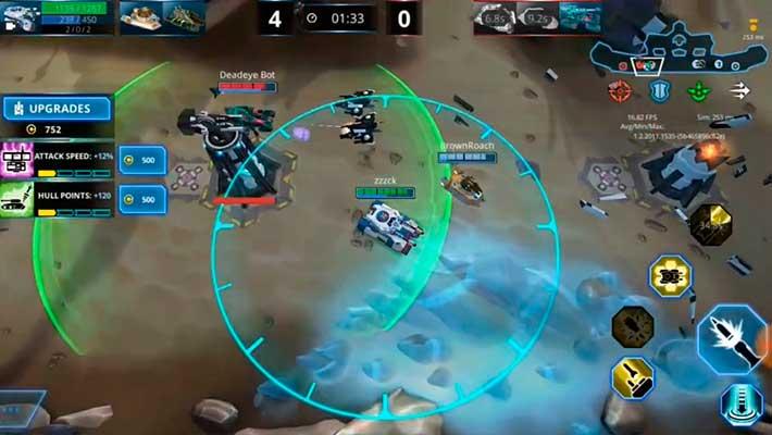 Panzer League - в зоне действия защитной башни
