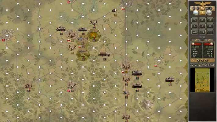 Panzer Corps - бои на больших картах