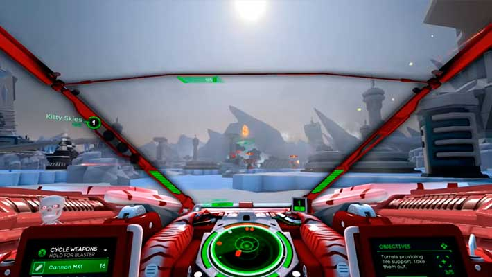 Battlezone Gold Edition - пейзажи планеты будущего