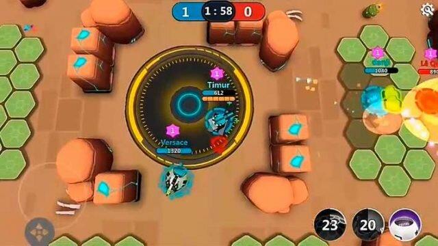 Tank Raid Online – сессионный экшен 3 на 3 с элементами MOBA