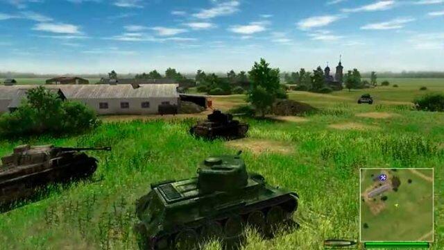 On the front line (На линии фронта) - союзные войска