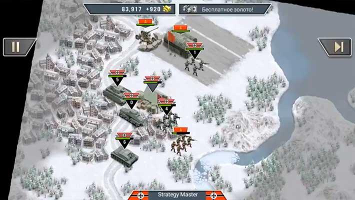 Frozen Front - разнообразие войск