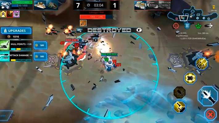 Panzer League - снесли башню