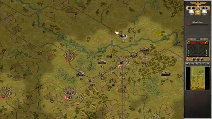 Panzer Corps - пошаговый варгейм