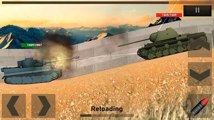 Tanks: Hard Armor - тигр против кв-1