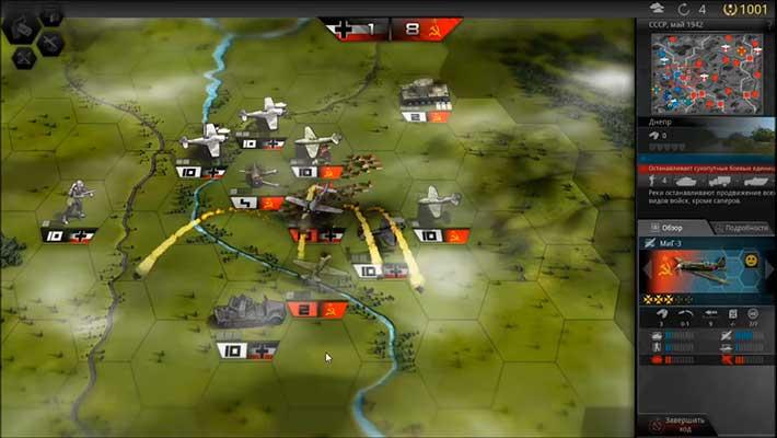 Panzer Tactics HD - напряженные сражения с ИИ