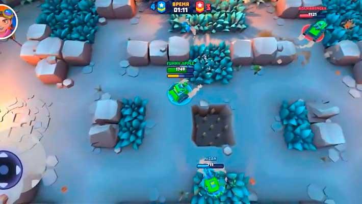Tanks a lot! - невидимость в кустах