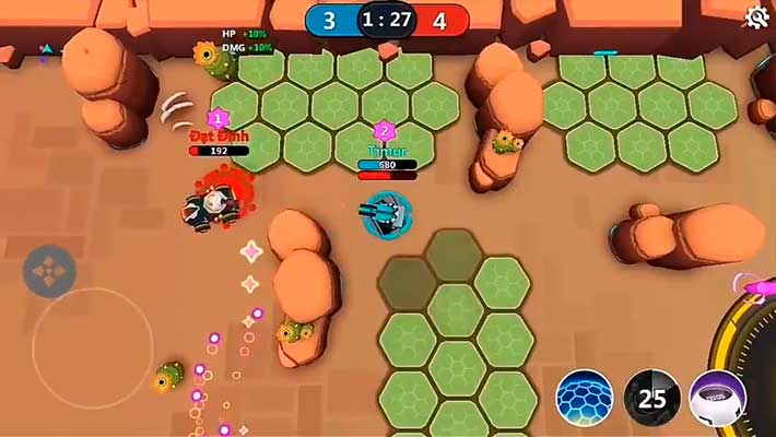 Tank Raid Online - преследуем врага