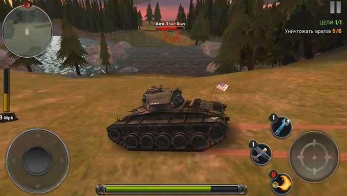 Tanks of Battle: World war 2 - Chaffee